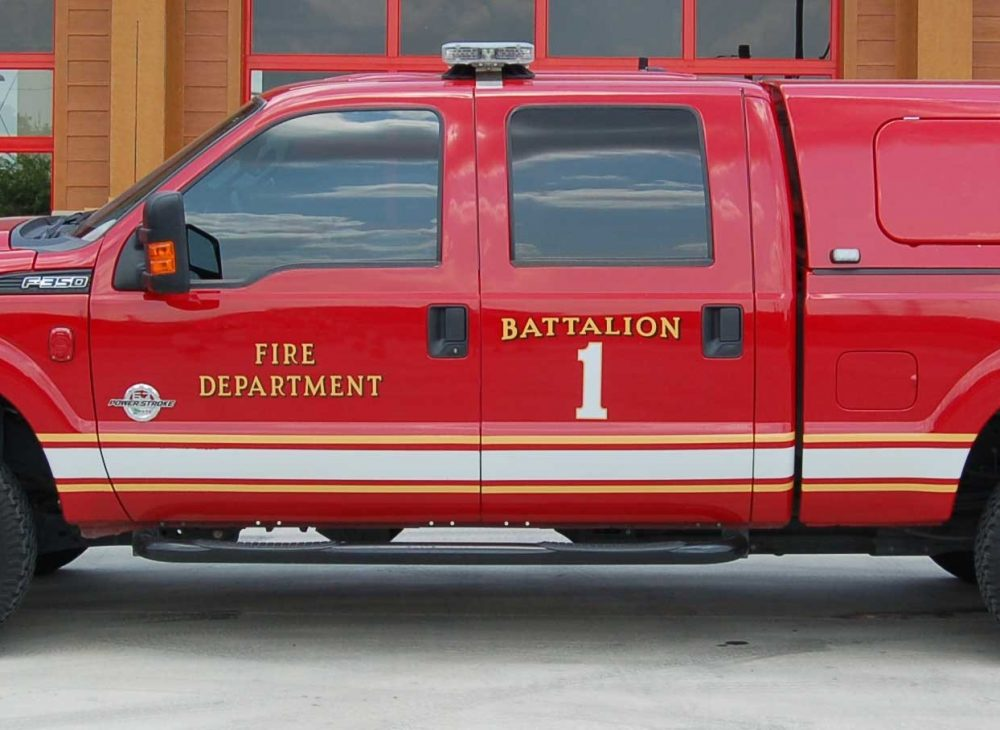 Battalion Chief Vehicle