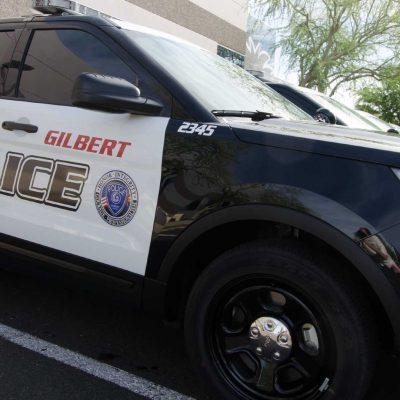 Gilbert Police Car
