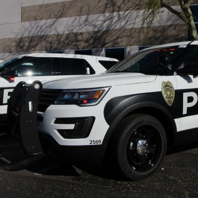 Sierra Vista Police Car